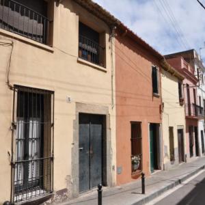 Cases de cós del carrer Àngel Guimerà